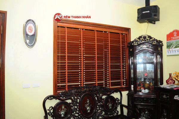 Rèm cửa sổ Hà Nội - Sản phẩm rèm gỗ tự nhiên