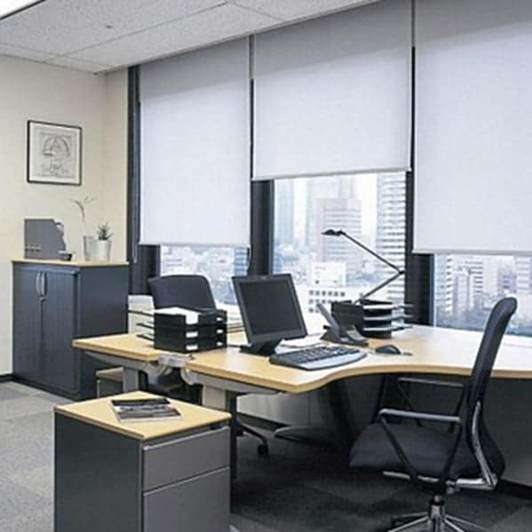 Cách chọn rèm cửa văn phòng đẹp - Rèm cuốn văn phòng