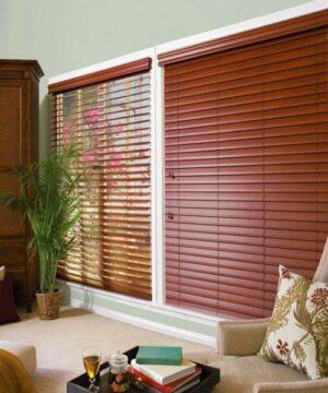 Rèm gỗ giá rẻ phòng khách mã WB 504