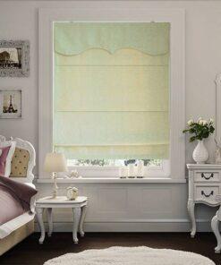 Rèm roman RM-310-11 vải Gấm cho phòng ngủ