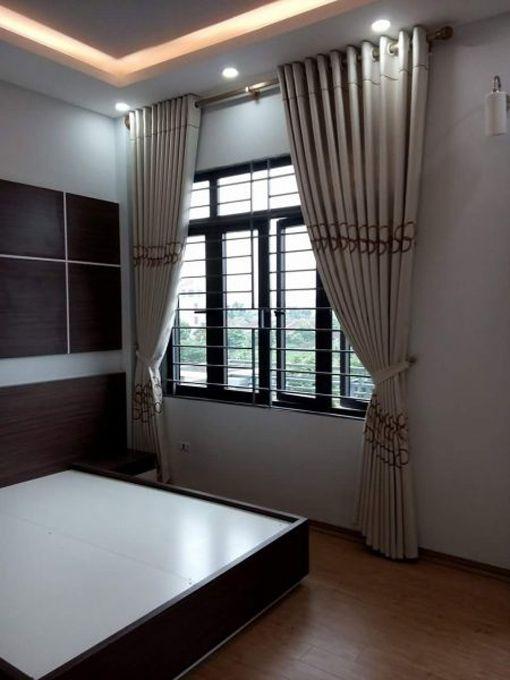 Rèm vải cotton cửa sổ phòng ngủ