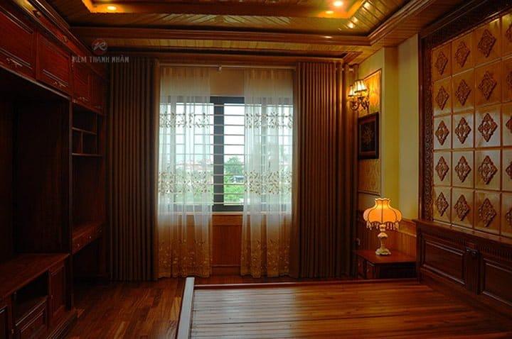 Rèm vải đẹp ở Hà Nội, rèm cửa phòng ngủ đẹp