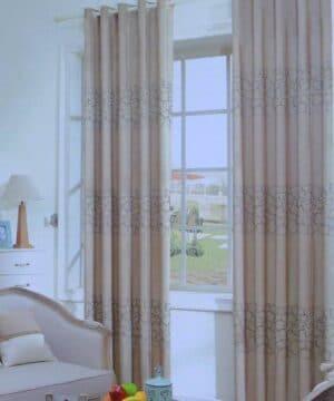 Mẫu rèm vải Cotton đẹp RV798