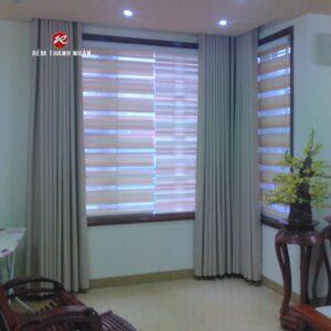 Rèm vải Blackout | Rèm vải cao su | Rèm cầu vồng Hàn Quốc đẹp giá rẻ tại Hà Đông