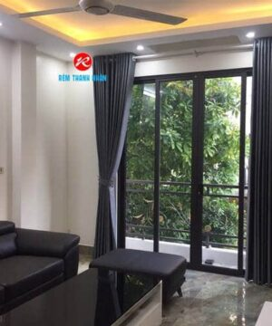Rèm vải cản nắng RV892-16 cửa phòng khách