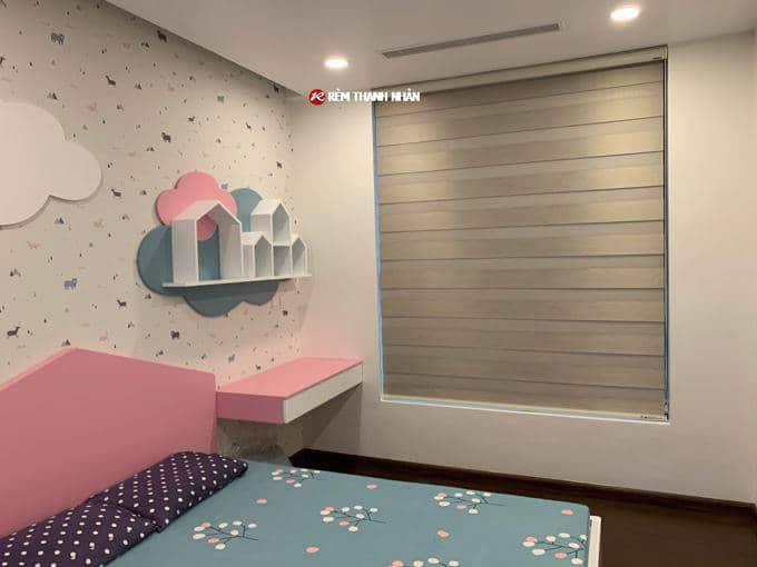 Rèm cửa sổ phòng ngủ cầu vồng Hàn Quốc