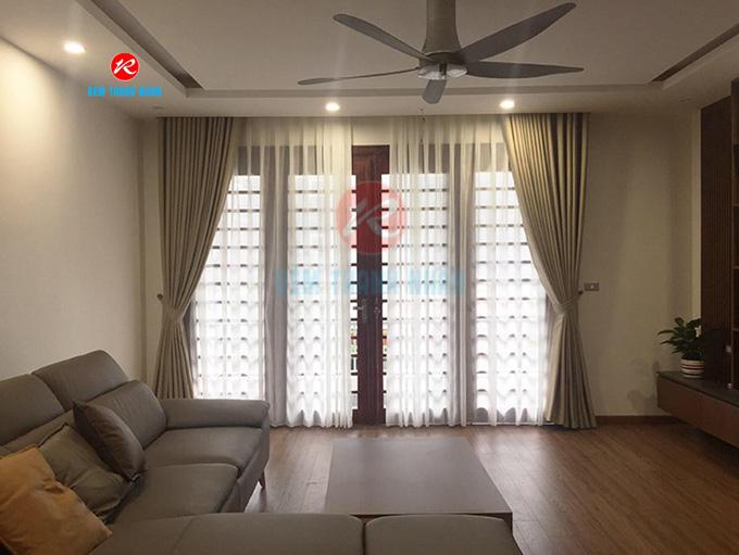Rèm vải cản nắng RV568-5 phòng khách