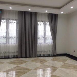 Rèm cửa đẹp 2 lớp vải RV484-12 phòng khách