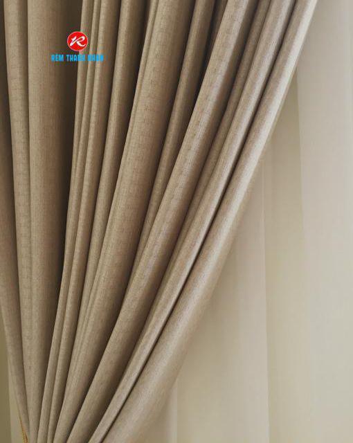 Vải rèm voan trắng xước 085-44-60