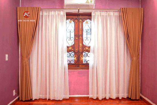 Rèm cửa 2 lớp chống nắng đẹp