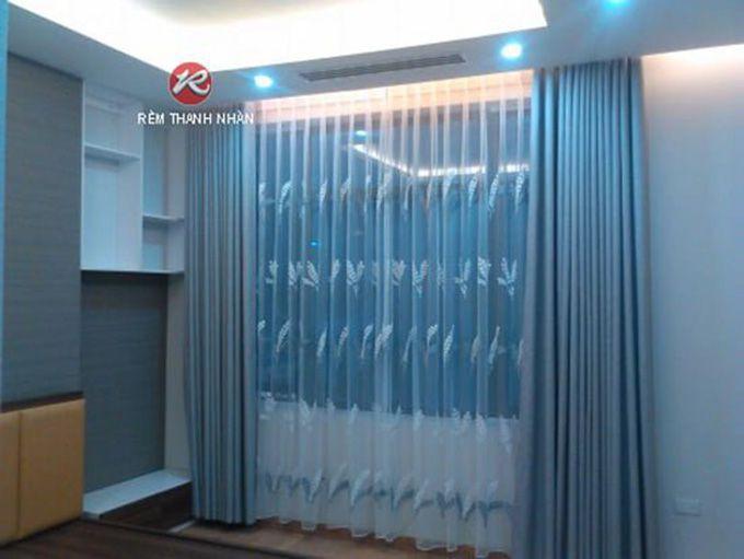 Rèm vải chống nắng cách nhiệt phòng ngủ