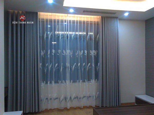 Rèm vải cao su RV888-16 chống nắng