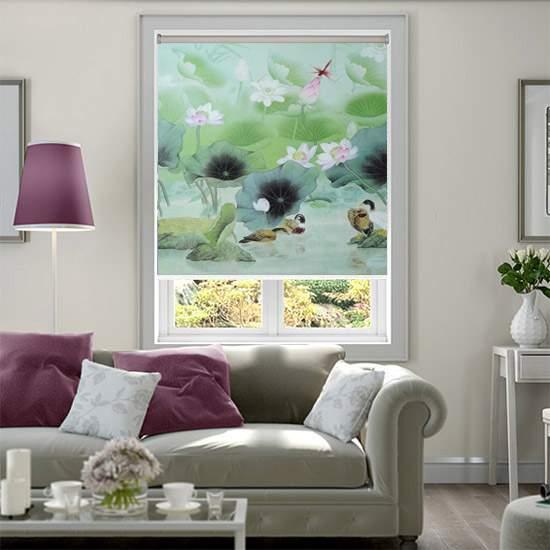 Rèm cuốn tranh CT-022