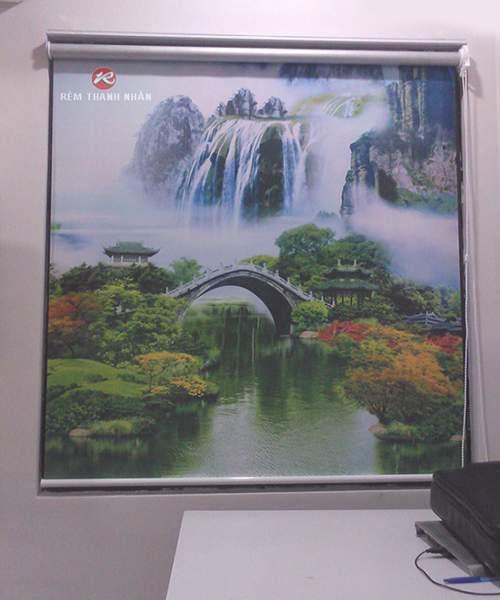 rem cuon tranh phong canh - Rèm cuốn tranh CT-014