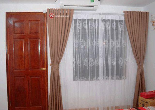 Rèm voan cửa sổ phòng ngủ