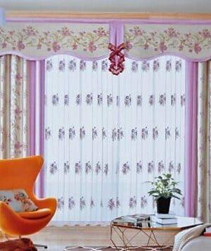 Rèm cửa hoa văn họa tiết HTN-02