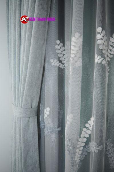 Rem vai lua - Rèm vải lụa tơ tằm mang lại không gian sống thân thiện