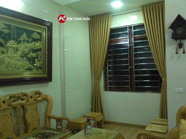 Rem vai tho bo gia re cho khong gia phong khach - Mua rèm vải giá rẻ ở đường Tố Hữu Hà Đông Hà Nội