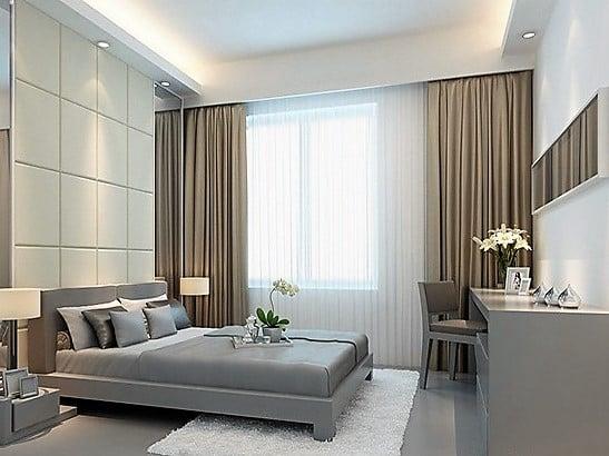 mau rem cua phong ngu - Lựa chọn mẫu rèm cửa phòng ngủ đẹp tại Hà Nội