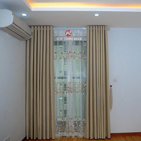 Rèm 2 lớp chống nắng cách nhiệt phòng khách