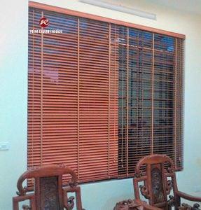 Rèm gỗ Dương cầm WB-905, rèm gỗ cao cấp tại Hà Đông, Hà Nội
