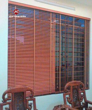 Rèm gỗ Dương Cầm WB-905 cửa phòng khách