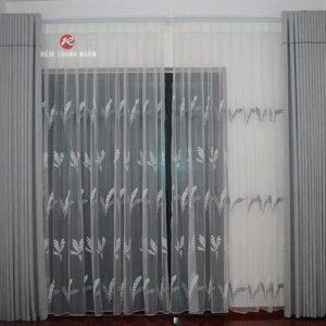 Rèm vải lụa Silk-012