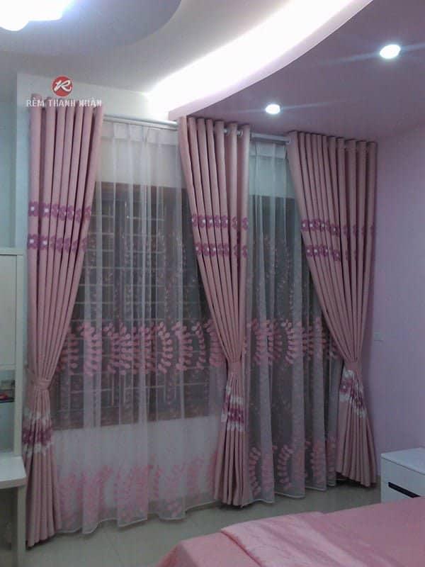 mau rem vai cotton hl8 733 - Mẫu rèm vải Cotton đẹp, độc và lạ tại Hà Nội