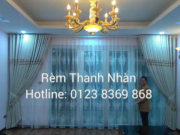 rem vai cotton hl8 796 - Mẫu rèm vải Cotton đẹp, độc và lạ tại Hà Nội