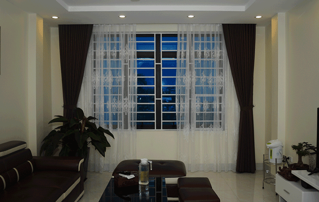 Mẫu rèm cửa sổ đẹp cho gia đình