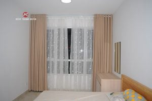 Rèm vải 2 lớp che nắng cửa sổ phòng ngủ
