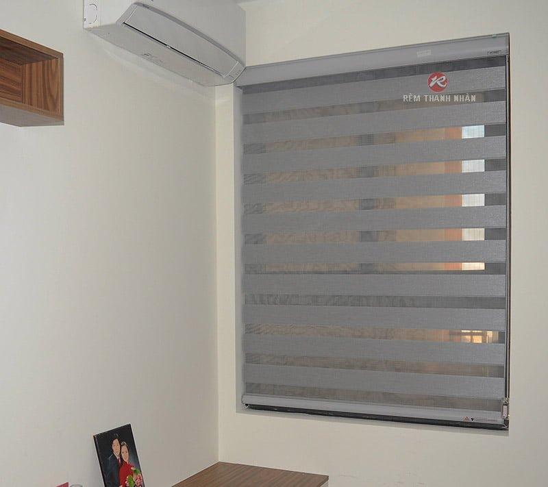 rem cau vong han quoc cutie ct 304 phong ngu1 - Rèm vải 2 lớp, rèm cầu vồng Hàn Quốc tại CC The K Park Hà Đông