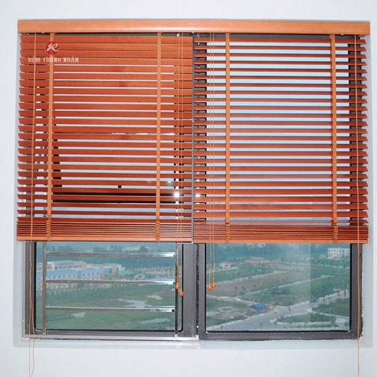 Rèm sáo gỗ STW-033 cho chung cư