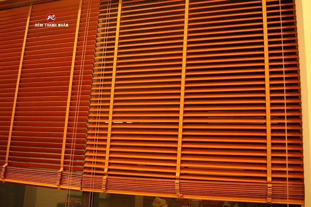 Rèm gỗ Thông tuyết MSJ-208 Thanh Nhàn