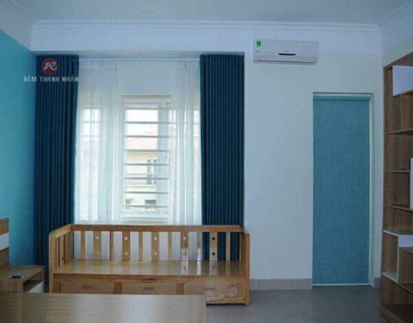Rèm vải 2 lớp RV-516-29-44-60 phòng ngủ