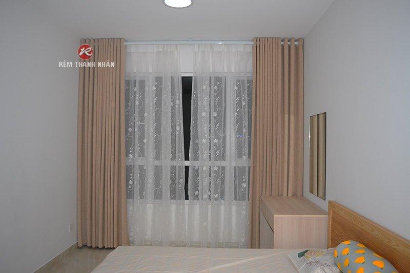 Rèm vải đẹp 2 lớp cho phòng ngủ - Rèm Thanh Nhàn