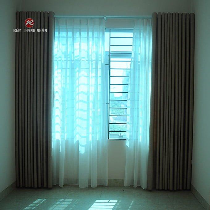 rem vai dep 2 lop - Rèm vải đẹp 2 lớp và rèm vải đẹp 1 lớp ở Hà Nội