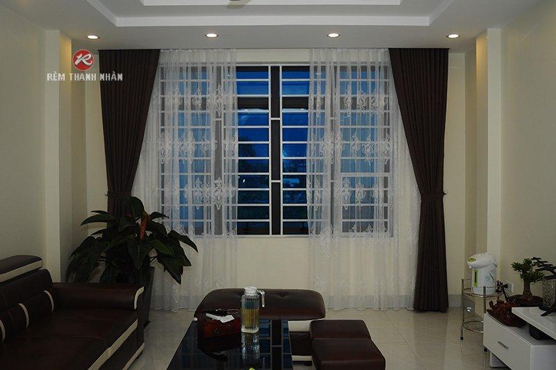 Rèm vải đẹp, rèm cửa sổ phòng khách - Rèm Thanh Nhàn
