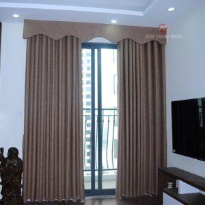 Mẫu rèm cửa đẹp rv-484-6, rèm vải đẹp, rèm vải chống nắng