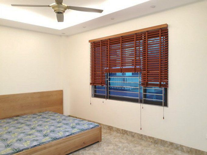Rèm gỗ tự nhiên Msj-305 cửa sổ phòng ngủ