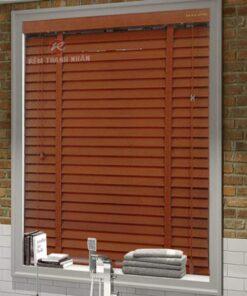 Rèm gỗ tự nhiên MSJ-305, rèm gỗ sồi, rèm gỗ giá rẻ, rèm cửa phòng thờ