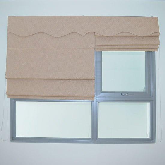 Mẫu rèm roman xếp lớp đẹp, rèm roman 2 lớp, rèm cửa sổ phòng ngủ