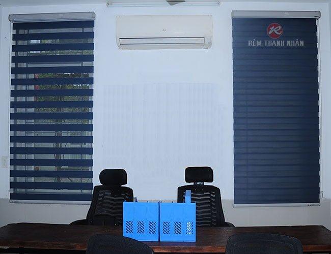 Rèm cầu vồng Hàn Quốc giá rẻ sử dụng cho rèm cửa văn phòng