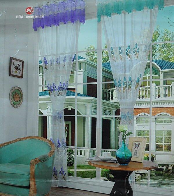 Tư vấn chọn rèm vải voan, rèm voan đẹp ở Hà Nội