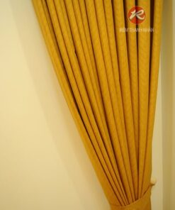 Rèm Vải Một Màu Có Vân RV484-3