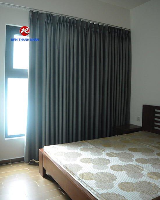 Rèm vải Blackout chống nắng 100% sử dụng cho rèm cửa sổ phòng ngủ 2019
