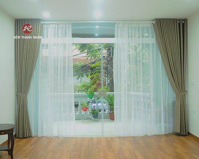 rem vai gam cao cap rem vai polyester quan hoan kiem ha noi - Rèm vải Gấm cao cấp - Rèm vải polyester tại quận Hoàn Kiếm Hà Nội