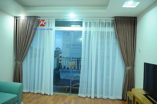 rem vai polyester rem vai hoa van 2 lop ha noi - Rèm Vải Polyester 100% - Rèm vải hoa văn Hà Nội