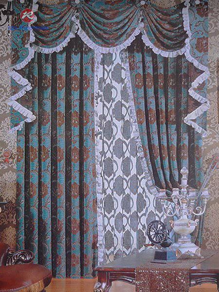 Rèm phòng ngủ - Rèm vải hoa văn, rèm vải một màu