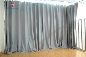 Rèm vải ngăn lạnh cách nhiệt điều hòa